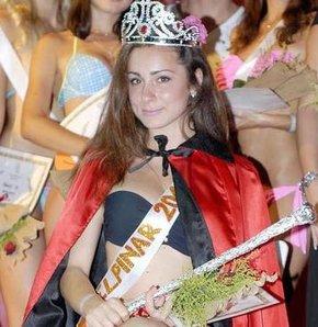 Miss belpınar güzellik yarışması nda ukraynalı anta tkalich