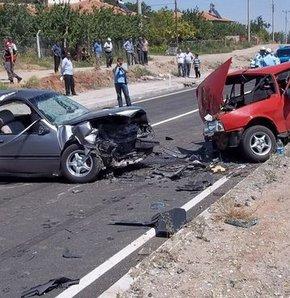 Kırıkkale'de trafik kazası: 3 ölü 6 yaralı, kırıkkale, trafik kazası,