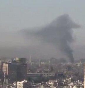 Şam'da intihar saldırısı