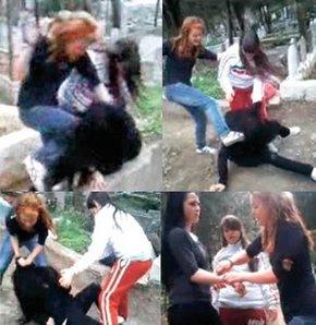 Liseli kızların, kıza mezarlıkta yaptığı işkence