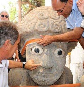 Hatay'da Hitit Kralı 2. Şuppiluliuma'ya ait 3 bin yıl öncesine dayanan bir heykel bulundu