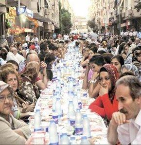 Güngören'de iftar