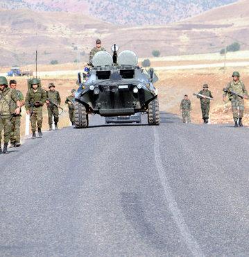 PKK'nın Şemdinli'ye saldırı girişimi püskürtüldü