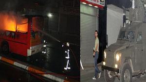 İstanbul'da molotoflu saldırı!