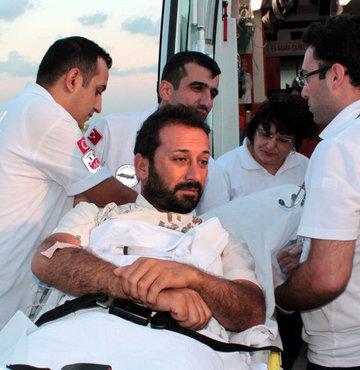 Suriye'de vurulan gazeteci İstanbul'da
