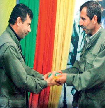PKK'da komuta Suriyeliler'de