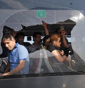 Haliç Köprüsü'nde metrobüsler çarpıştı: 5 yaralı