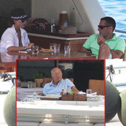 Baba - oğul tekne keyfi...