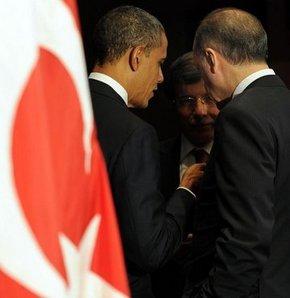 Obama, Erdoğan, Davutoğlu