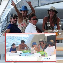 Teknede aile buluşması