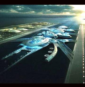 Londra'ya yüzer havaalanı projesi!