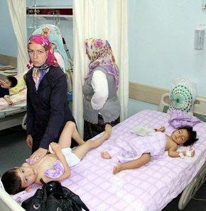 Samsun'da ishal salgını