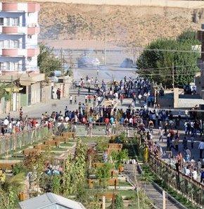 Cizre'de olaylar çıktı