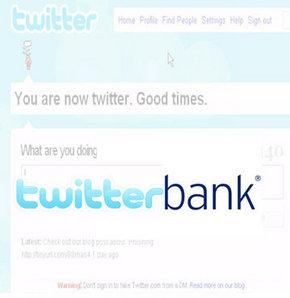 Twitter bankası kuruldu
