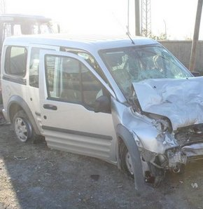 Muş'ta feci trafik kazası