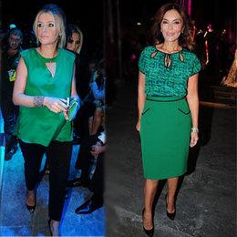 Hanımların yeşil tutkusu