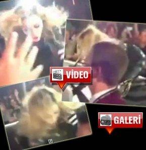 Madonna'ya konserde şok!