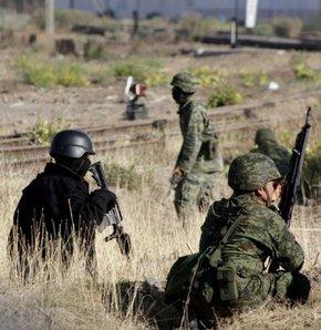 Uyuşturucu karteli askere saldırdı