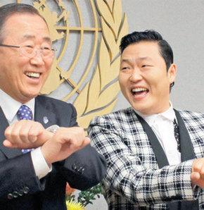 Gangnam Style şarkısı ve dansıyla tüm dünyada fenomen olan PSY, Güney Kore'nin Ajdar'ı mı?