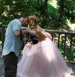 Düğün fotoğraflarında yeni moda ''doğal platolar''