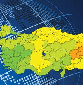Türkiye'nin kredi risk haritası açıklandı