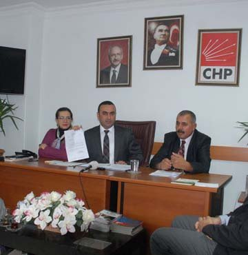 CHP İl Başkanı da AKP'li çıktı