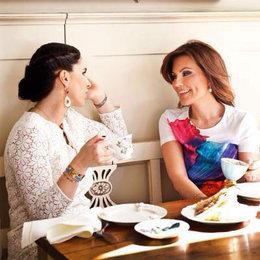 Hanımların beş çayı sohbeti