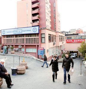 Taksim Eğitim ve Araştırma Hastanesi boşaltılıyor...