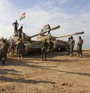 Barzani, ABD'den asker istedi