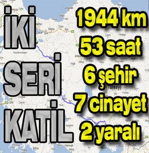 8 yıl önce Bursa'dan başlayıp Adana'ya kadar 1944 kilometre yol ve 53 saat gidilerek işlenen seri cinayetlerde güvenlik ekiplerinin 'ihmalinin' bulunduğu iddiası yargıya taşındı.