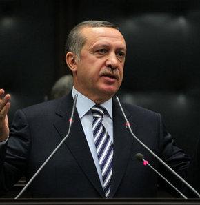 Başbakan Recep Tayyip Erdoğan, 7 bakanla birlikte Şanlıurfa'ya geldi. Açılış töreninde halka hitap ediyor...