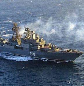 Rusya Karadeniz Filosundan dev tatbikat