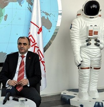 Turkey reaching out to space with 22 engineers