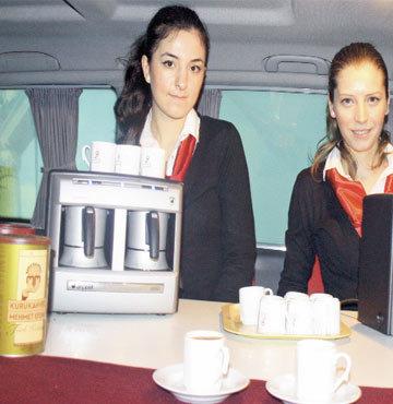 Türk kahvesi ikramı!