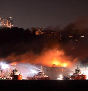 Galatasaray Üniversitesi'nde yangın!
