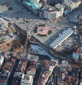 Taksim'de son durum