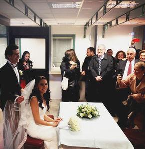 Ece Üner ve Deniz Bayramoğlu'nun nikah şahitliğini Kenan Tekdağ ve Ferhat Boratav yaptı