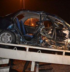 Elazığ'daki zincirleme trafik kazasında 20 aracın birbirine girmesi sonucu 5 kişi yaralandı