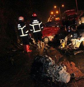 Ordu'daki trafik kazasında 3 kişi öldü, 2 kişi yaralandı