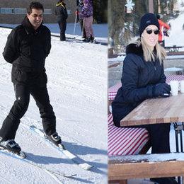 Tek başına kayak öğrendi