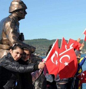 18 Mart Şehitleri Anma Günü ve Çanakkale Deniz Zaferi'nin 98. Yıl Dönümü tüm yurtta düzenlenen törenlerle kutlanıyor