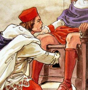 Kardinaller yeni Papa'ya biat etmeden önce testislerini iyice bir kontrol ederler