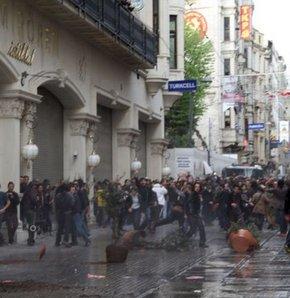 Taksim'de gergin gün