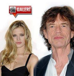 Kim der ki Mick Jagger'ın kızı!