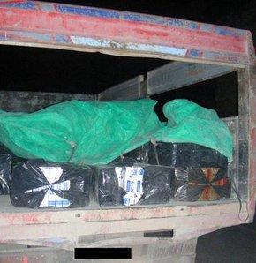 Operasyonlarda 36 bin 589 paket kaçak sigara ele geçirildi