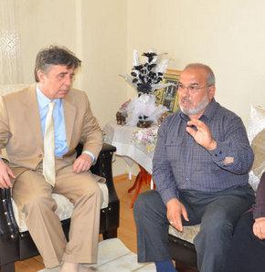 Akil İnsanlar Heyeti İç Anadolu Bölgesi Grubu, çalışmaları kapsamında Karaman'da bir şehit ailesini ziyaret etti
