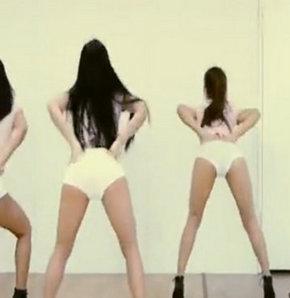 PSY'ın yeni şarkısı Gentleman için kamera karşısına geçen Koreli kızlar, izleyenleri hayran bıraktı...