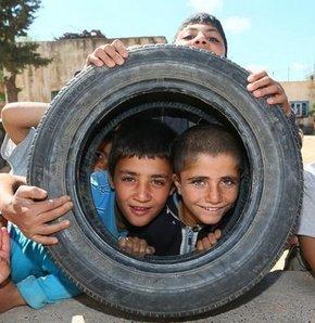 Mardin'de çocuklar çok mutlu
