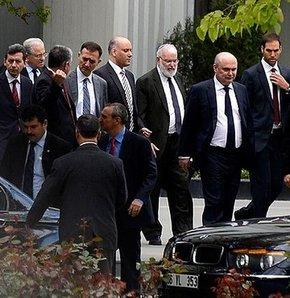Başbakan Yardımcısı Arınç İsrail heyetini kabul etti