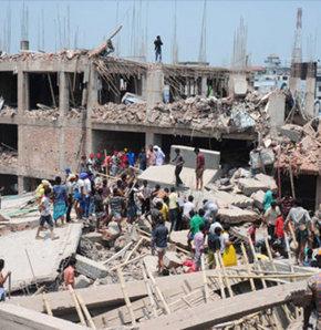 Bangladeş'te 8 katlı bir binanın çökmesi sonucu ilk belirlemelere göre 70 kişinin hayatını kaybettiği bildirildi.